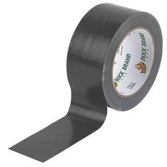 Image of Duck Original Cloth Tape 50 Mesh Black 50mm x 25m