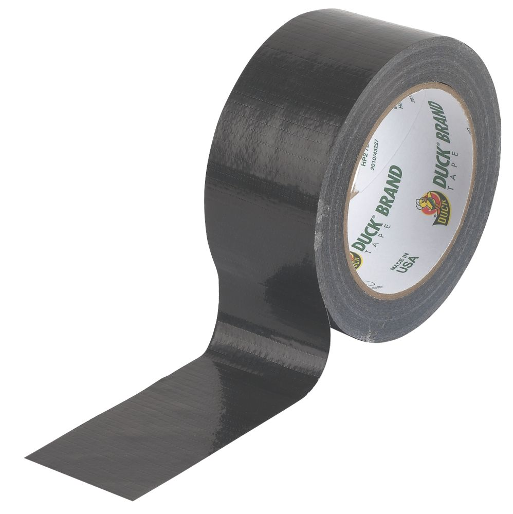 Image of Duck Original Cloth Tape 50 Mesh Black 50mm x 25m