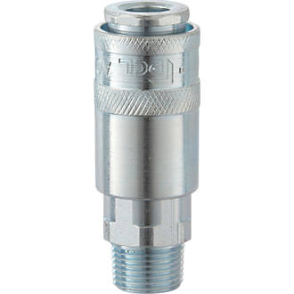 """Image of PCL AC21CM Airflow Male Coupling Socket ¼"""" BSP Taper Male Thread"""