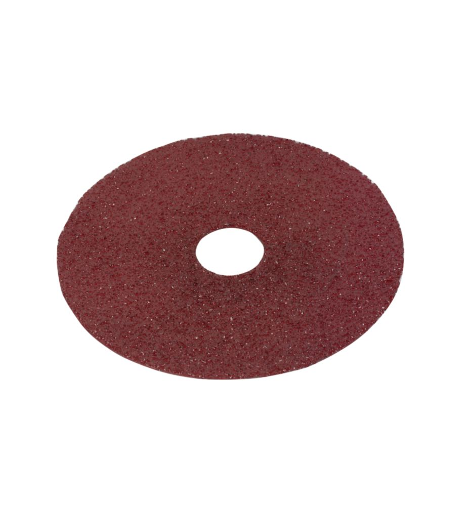 Image of Alox Fibre Disc 115mm 24 Grit Pack of 10