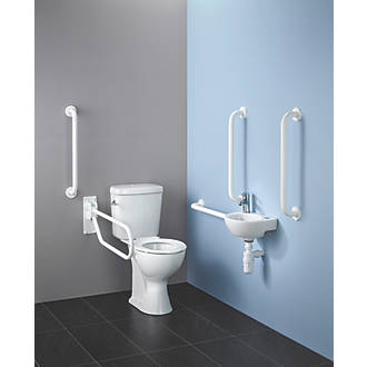Image of Armitage Shanks Assisted Living Washroom Pack with Raised Height WC
