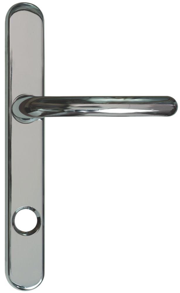 Image of Fab & Fix Berwick Door Handles Pair Polished Chrome