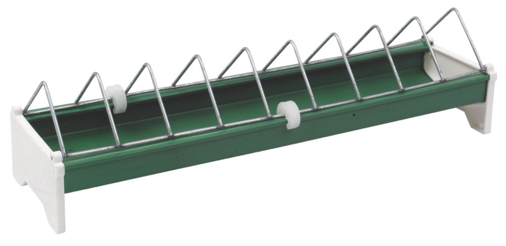 Image of Stockshop Wolseley Plastic & Steel Ground Feeder x 820mm Green 1.5kg