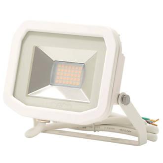 Image of Luceco LFS12W150 LED Slim Floodlight White 15W