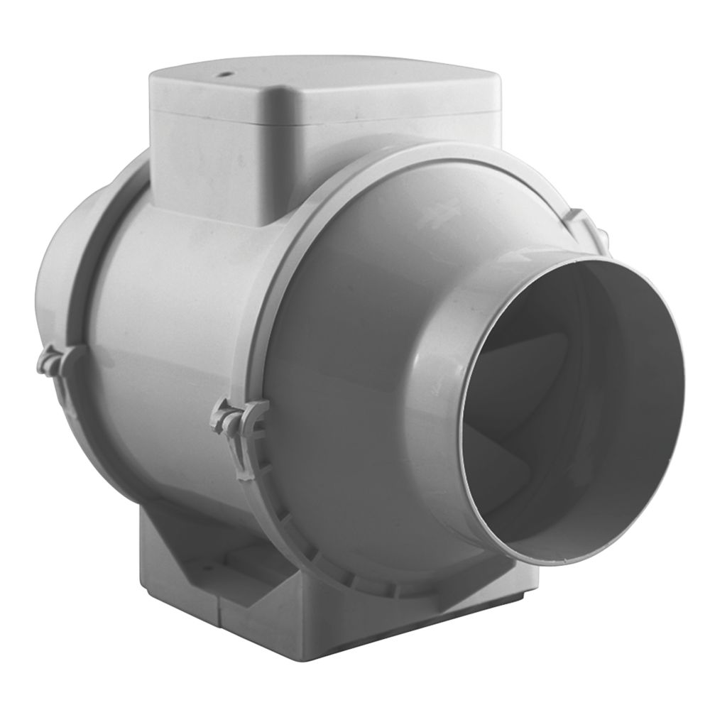 Image of Xpelair XIMX100 25W In-Line Mixed Flow Extractor Fan