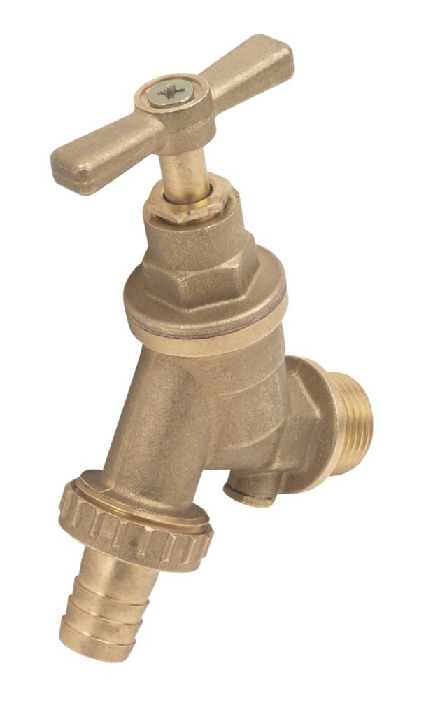 "Image of Outside Tap with Hose Union 15mm x ""mm"