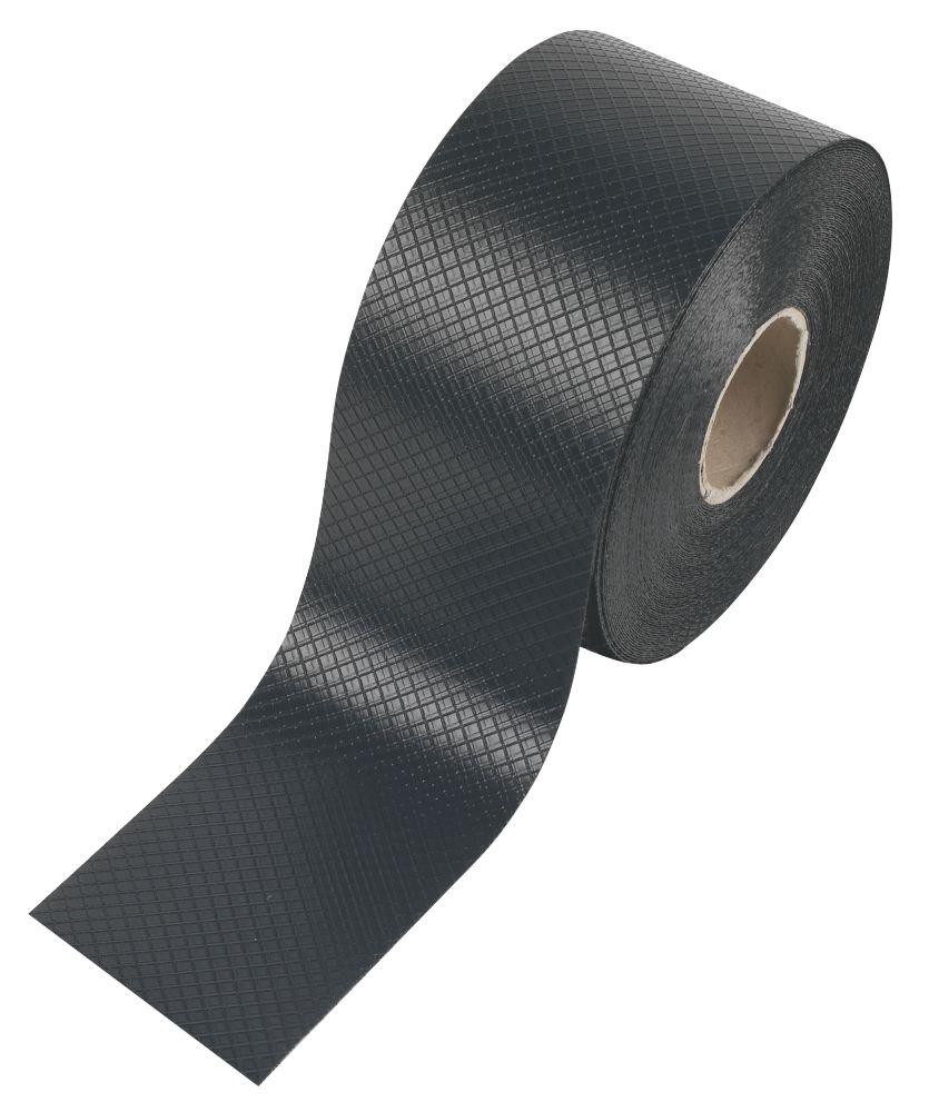 Image of Capital Valley Plastics Ltd Damp-Proof Course 1968ga Black 100mm x 30m