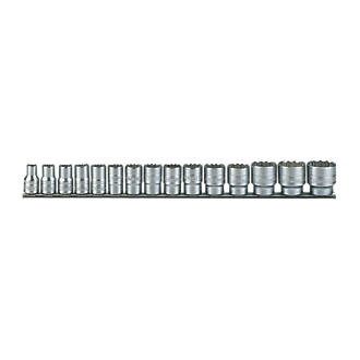 "Image of Teng Tools 1/2"" Drive AF Regular Socket Rail Set 15 Pieces"