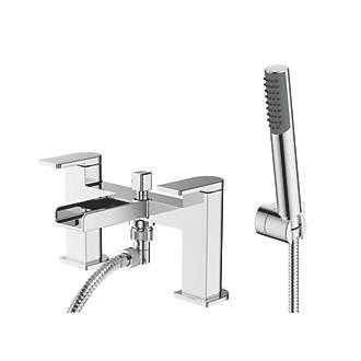 Image of Watersmith Heritage Niagara Waterfall Deck-Mounted Bath / Shower Mixer Tap