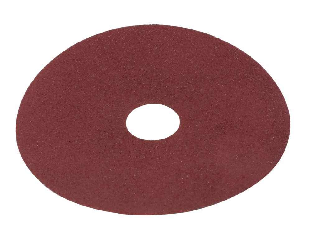 Image of Alox Fibre Disc 115mm 80 Grit Pack of 10