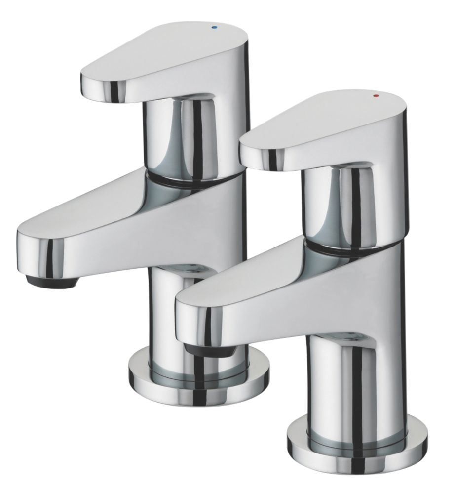 Bathroom Taps bristan quest bathroom basin taps pair | basin taps | screwfix