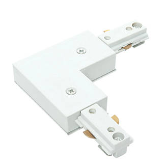 Image of Saxby 1-Circuit Track Lighting L Connector