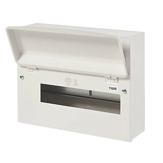 Image of MK Sentry 12-Module Unpopulated Enclosure Only Consumer Unit