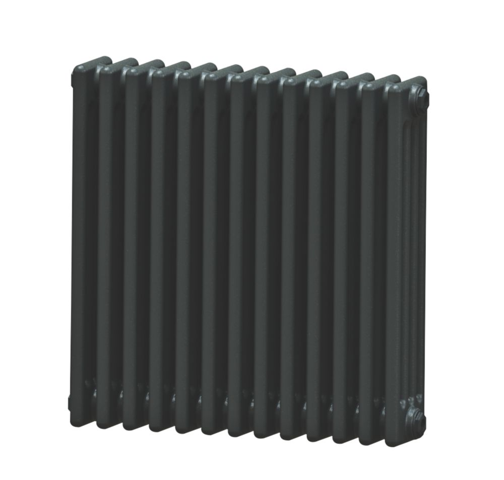 Image of Acova 4-Column Horizontal Radiator 600 x 628mm Volcanic