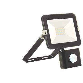 Image of Brackenheath iSpot LED PIR Slim Floodlight Black 10W Cool White