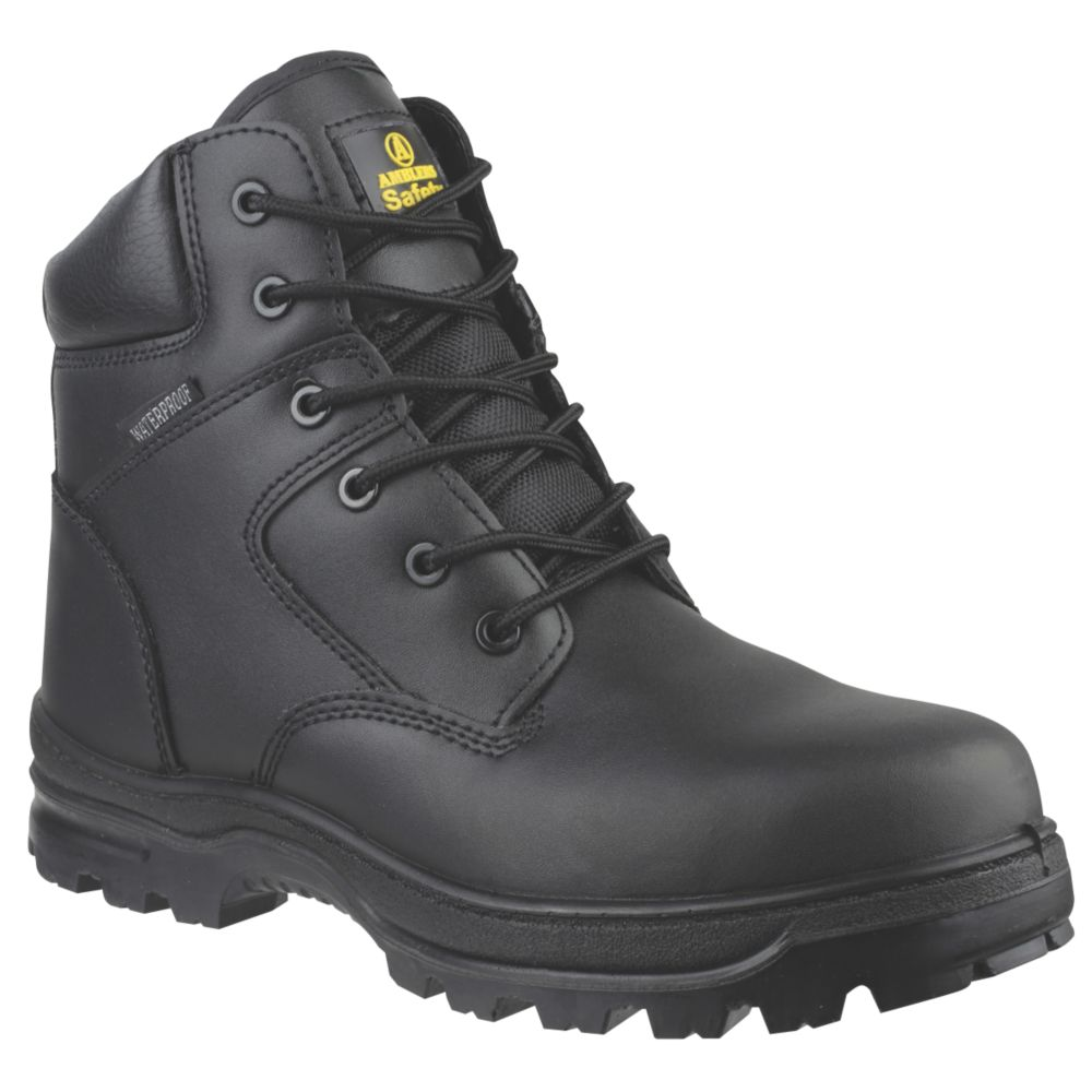Image of Amblers FS006C Metal Free Safety Boots Black Size 5