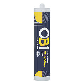 Image of OB1 Multi-Surface Sealant & Adhesive Clear 290ml