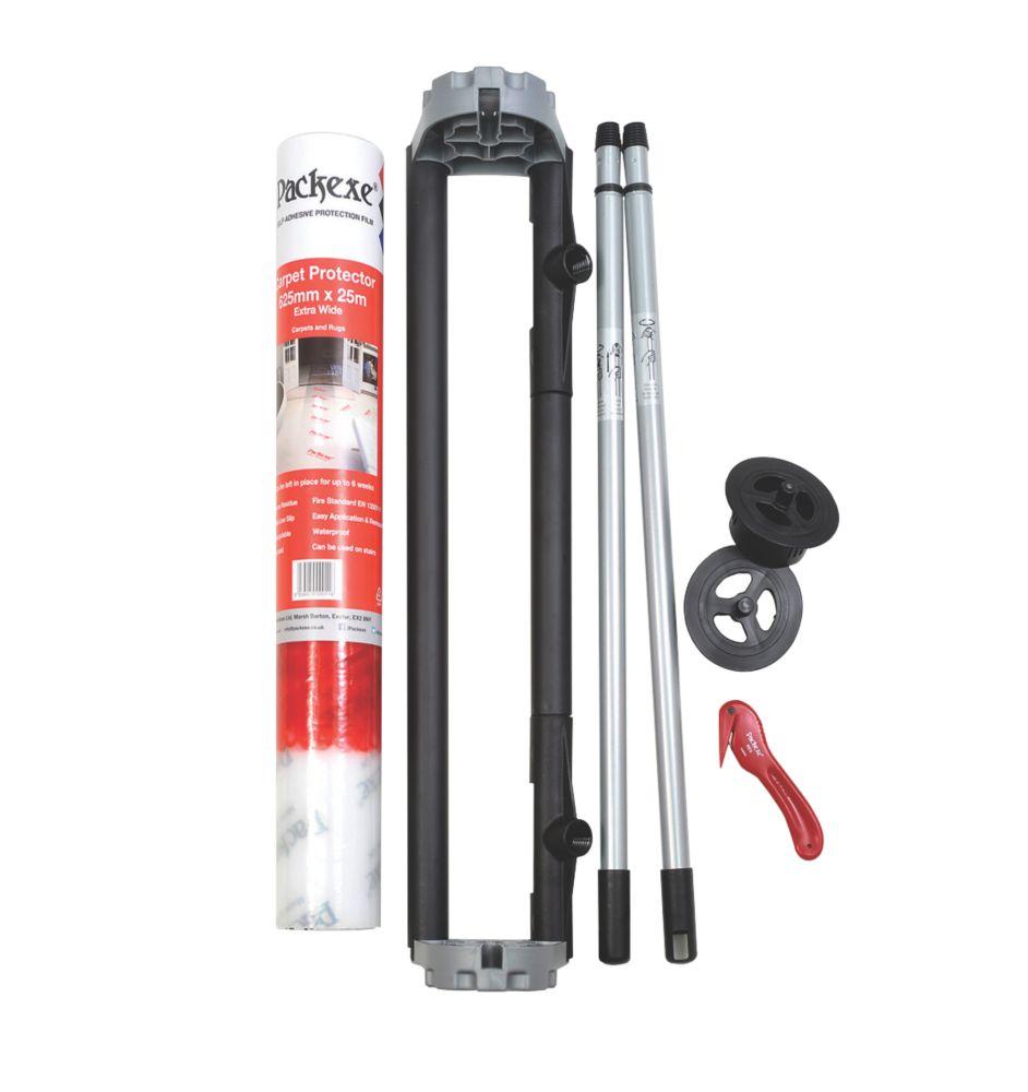 Image of Packexe Carpet Protector Dispenser Kit 625mm x 25m