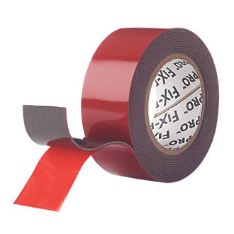 Image of Velcro Brand Fix-Pro Extreme Mounting Tape Black 25mm x 2m
