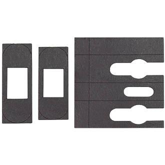 Image of Flexifire Universal Intumescent Tubular Latch Kit Black 23 x 0.8 x 76mm