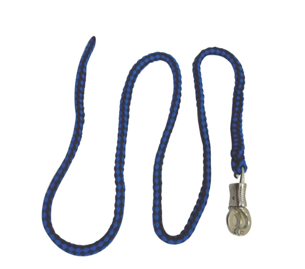Image of Kerbl Deluxe Lead Rope Blue Navy / Pastel Blue 2m