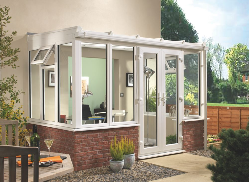 Image of T1 Traditional uPVC Conservatory 2.35 x 1.26 x 2.31m