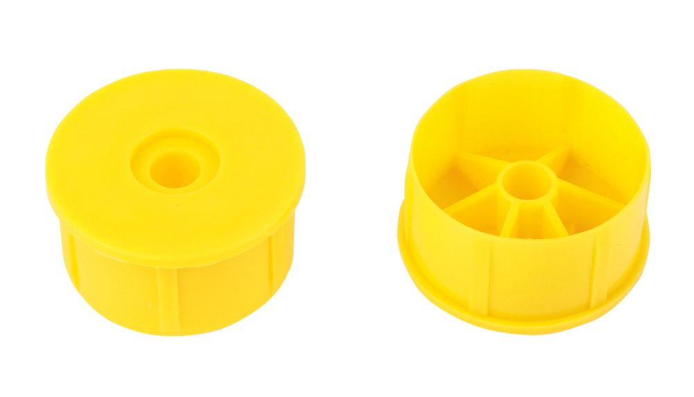 Image of Purdy Adjustable Paint Roller Frame End Caps Pack of 2 2 Pack