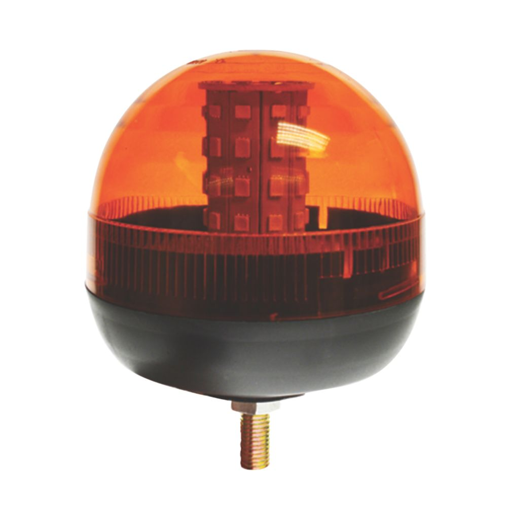 Image of Maypole Amber Surface-Mounted LED Beacon 40 x 3W 260mm