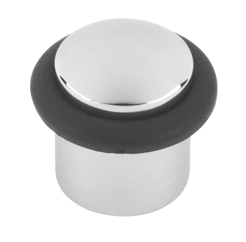 Image of Cylinder Door Stop Polished Chrome