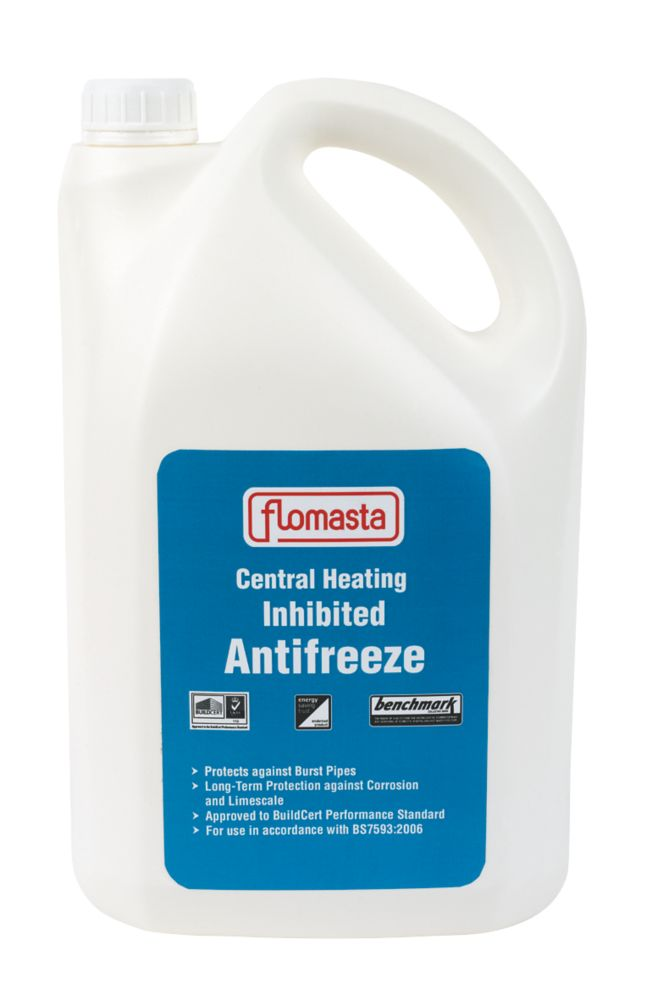 Image of Flomasta 0623 Concentrated Central Heating Inhibited Antifreeze 5Ltr