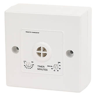 Manrose 1361 Remote Bathroom Fan Humidity Control With Timer Extractor Fans Fix