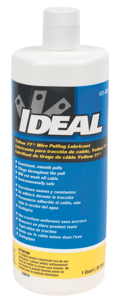 Image of Ideal Yellow 77 Wire & Cable Pulling Lubricant 950ml