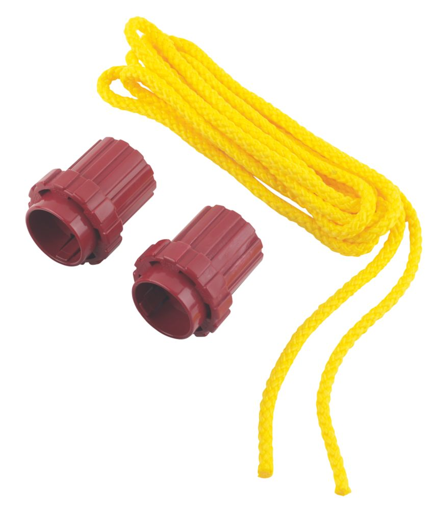 Image of What Knot Replacement Tools & 3.5m Yellow Rope 70mm x 60mm 3 Piece Set