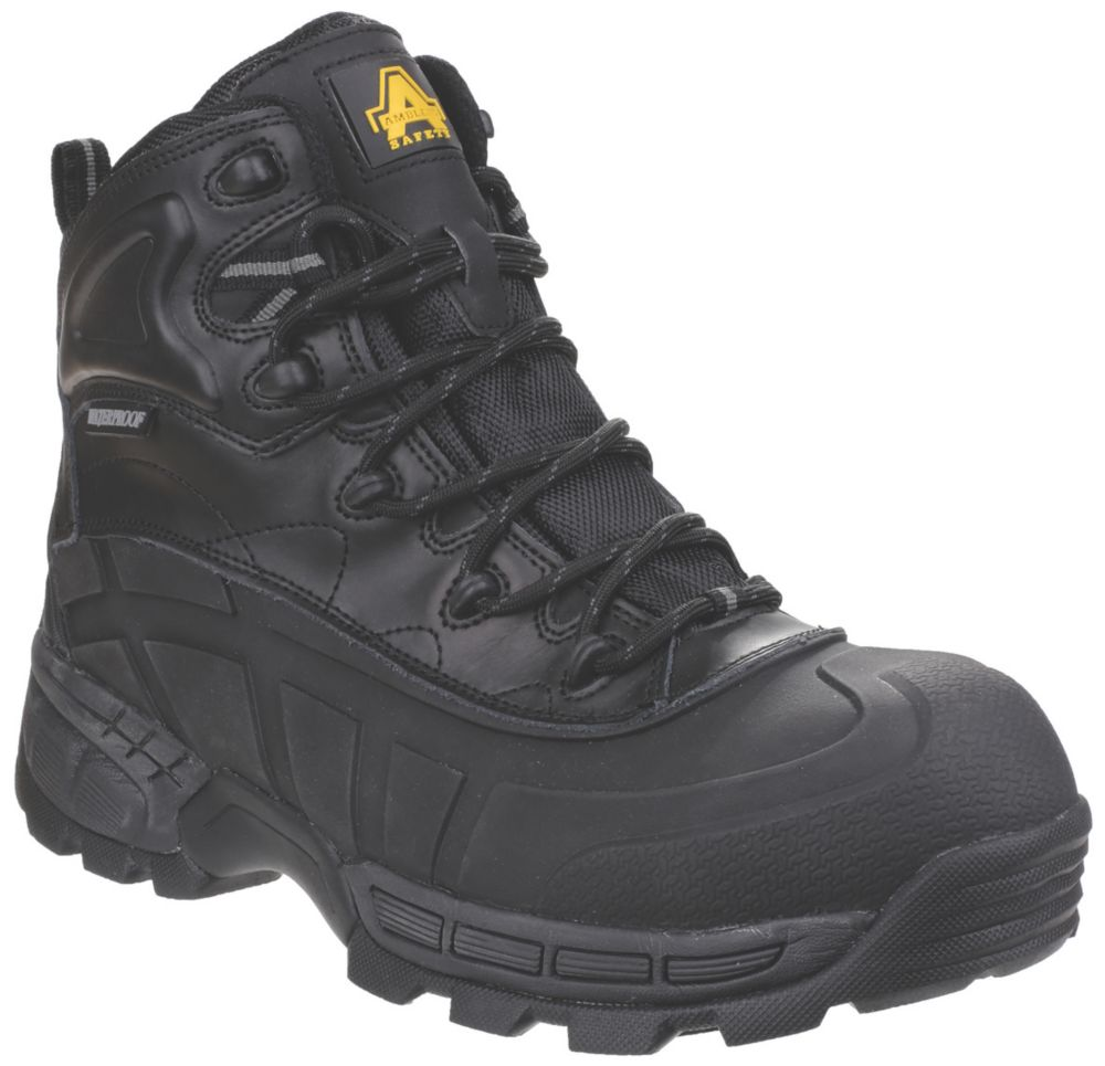 Image of Amblers 430 Orca Safety Boots Black Size 9