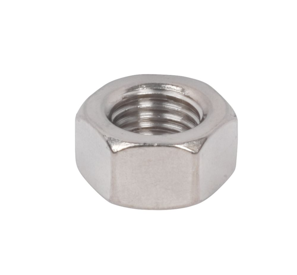 Image of Hex Nuts A2 Stainless Steel M16 50 Pack
