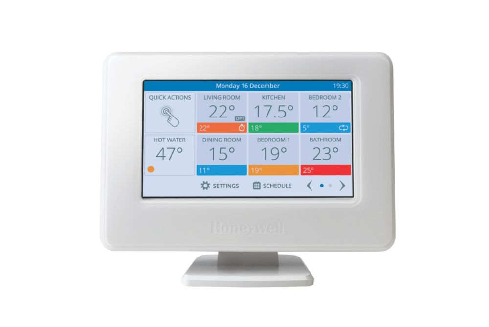 Image of Honeywell Evohome Wi-Fi Connected Thermostat Pack