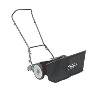 Image of Webb 46cm Contactless Hand Push Lawn Mower