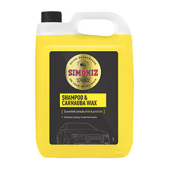 Image of Simoniz Car Shampoo and Wax 5Ltr