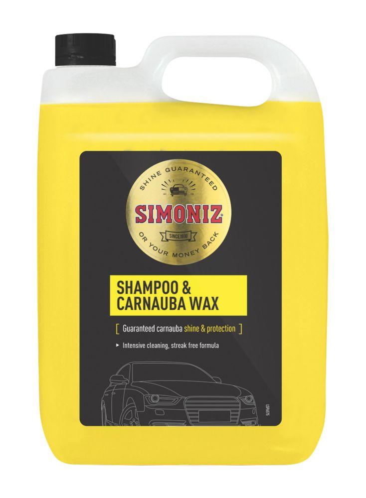 Image of Simoniz Car Shampoo and Wax 5Ltr