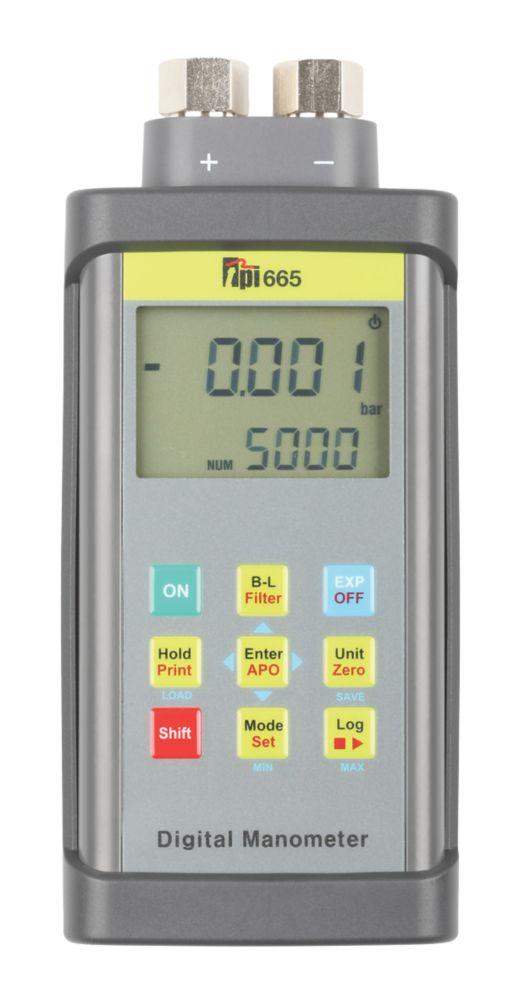 Image of TPI 665 High Pressure Digital Manometer