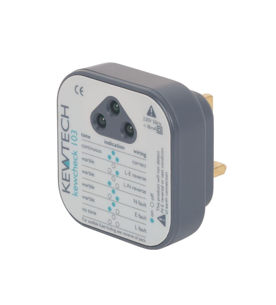 Image of Kewtech Kewcheck 103 Socket Tester