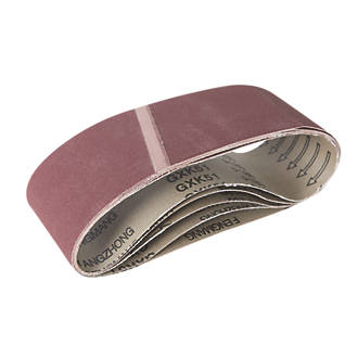 Image of Triton Alox Sanding Belts Unpunched 76 x 533mm 180 Grit 5 Pack