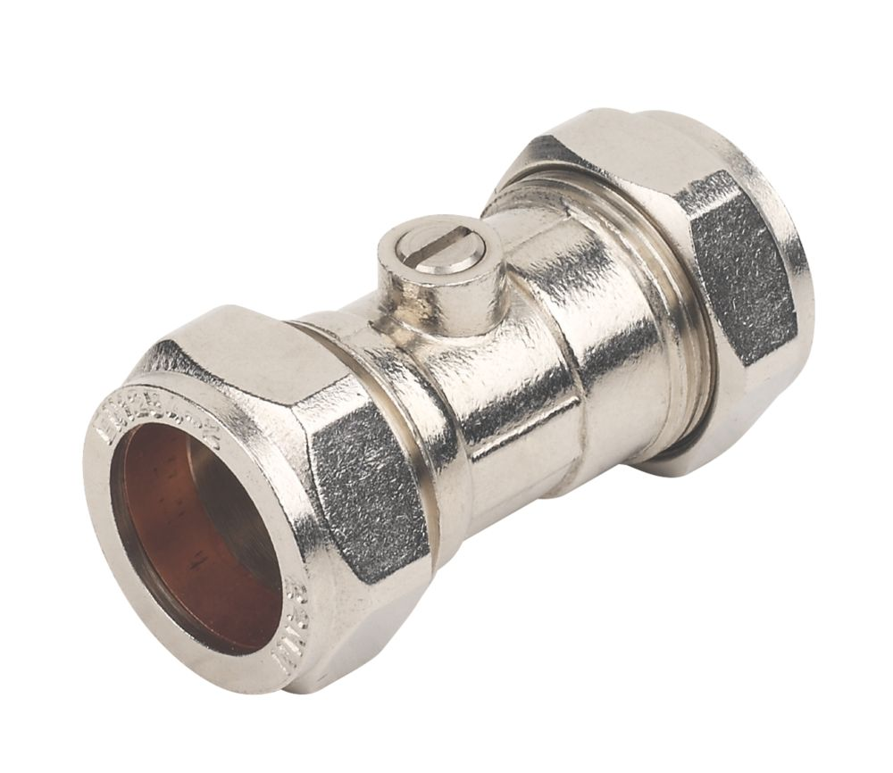 Image of Isolating Valve 22mm 10 Pack
