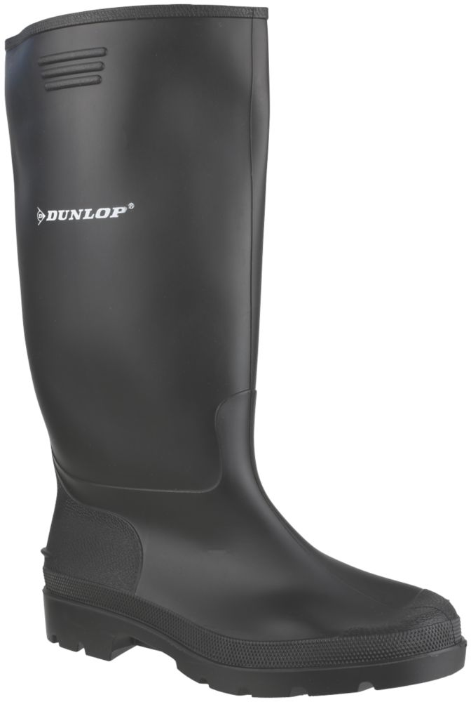 Image of Dunlop Non Safety Footwear Pricemaster 380PP Non Safety Wellingtons Black Size 6
