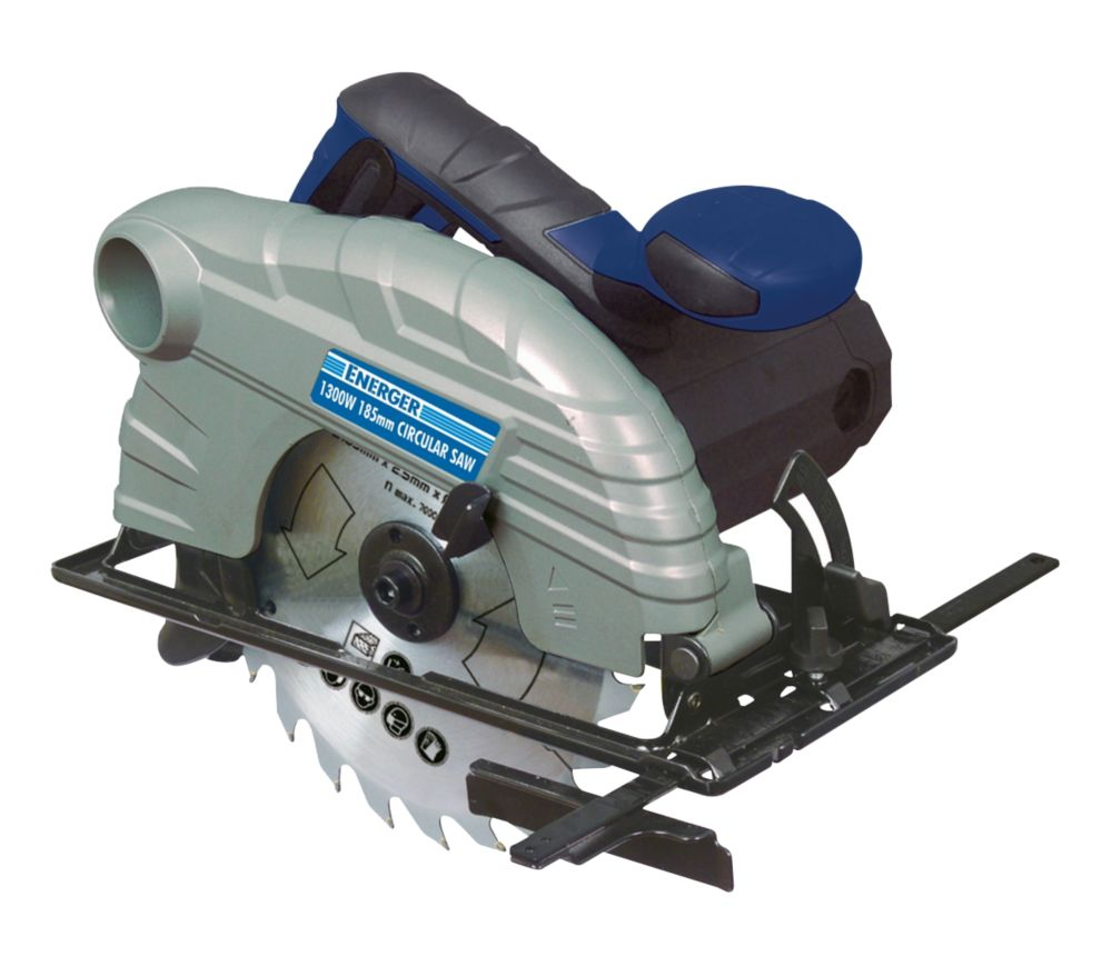 Image of Energer ENB455CSW 1300W 185mm Circular Saw 220-240V