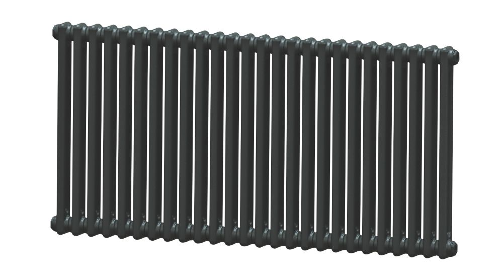 Image of Acova 2-Column Horizontal Radiator 600 x 1226mm Volcanic