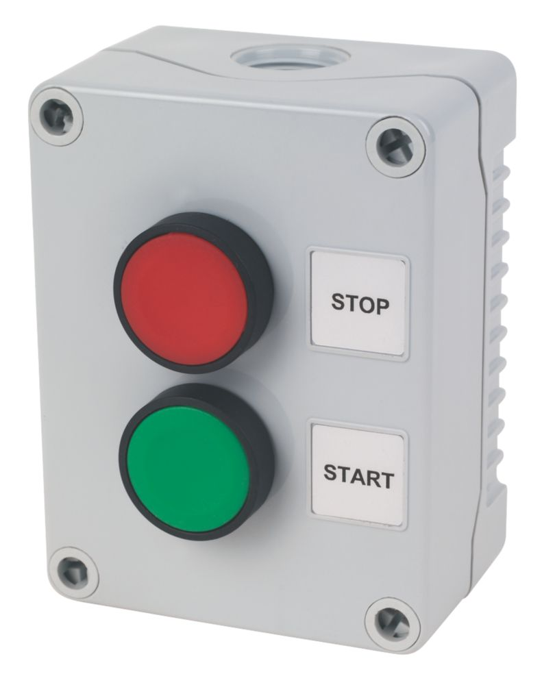 Image of Hylec 2-Way Stop / Start Push Button