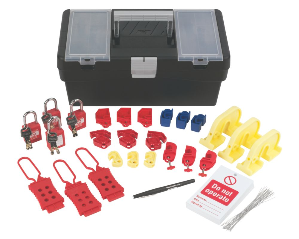 Image of Brady Commercial Deluxe Lockout Kit