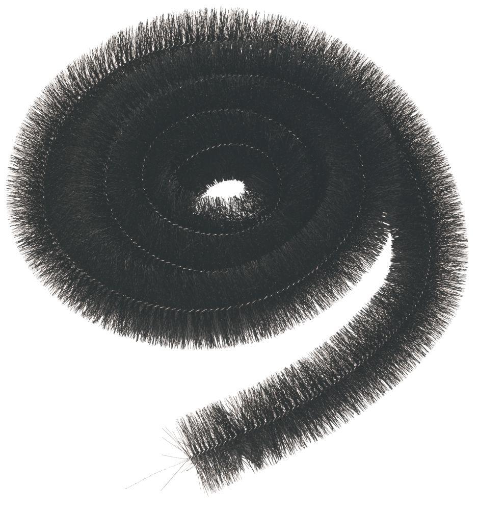 Image of FloPlast Gutter Brush 12m Black