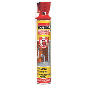 Image of Soudal Gap Filling Foam Hand-Held 750ml